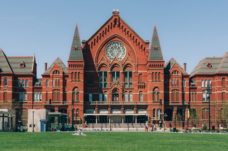 Cincinnati Music Hall.